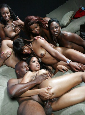 Ebony Group Sex Pics